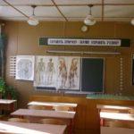 Класс биологии в моей школе